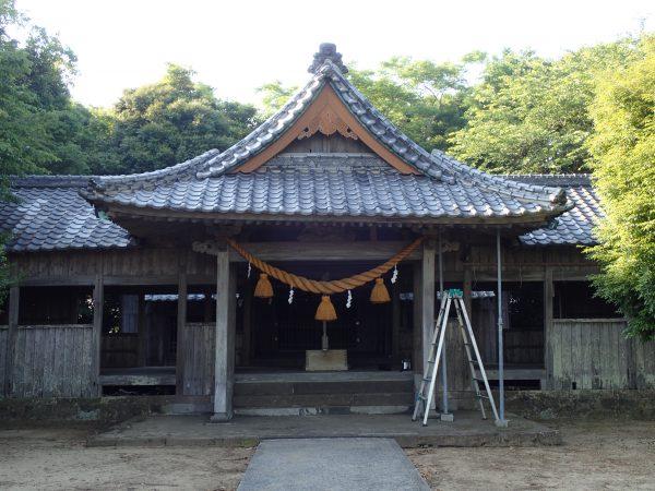 スマート建築による御霊社改修(Before)