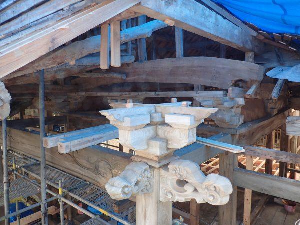 スマート建築による御霊社改修
