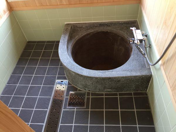 スマート建築による五右衛門風呂改修工事(風呂After)